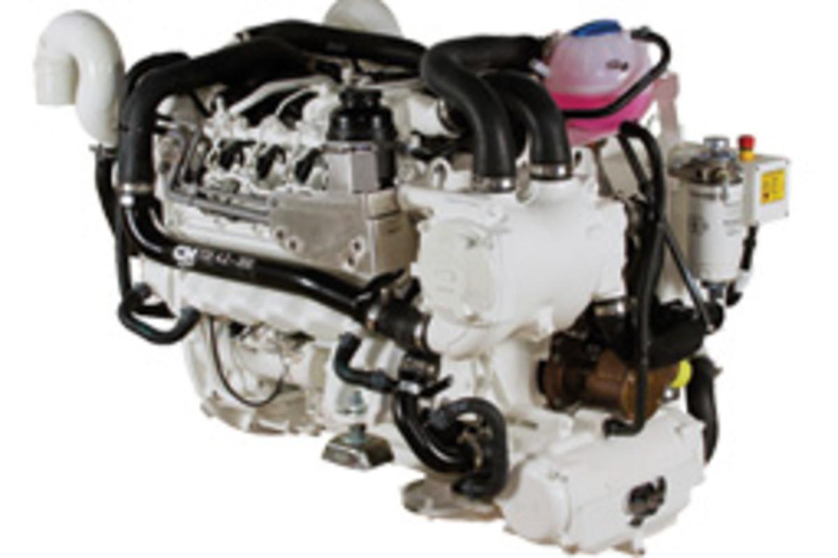 Mercury 350-hp 4.2-liter TDI diesel