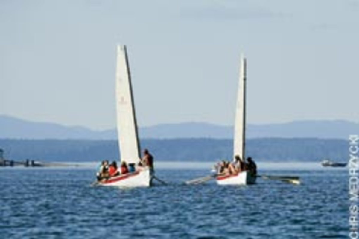NorseBoats are popular for racing and camp-cruising.