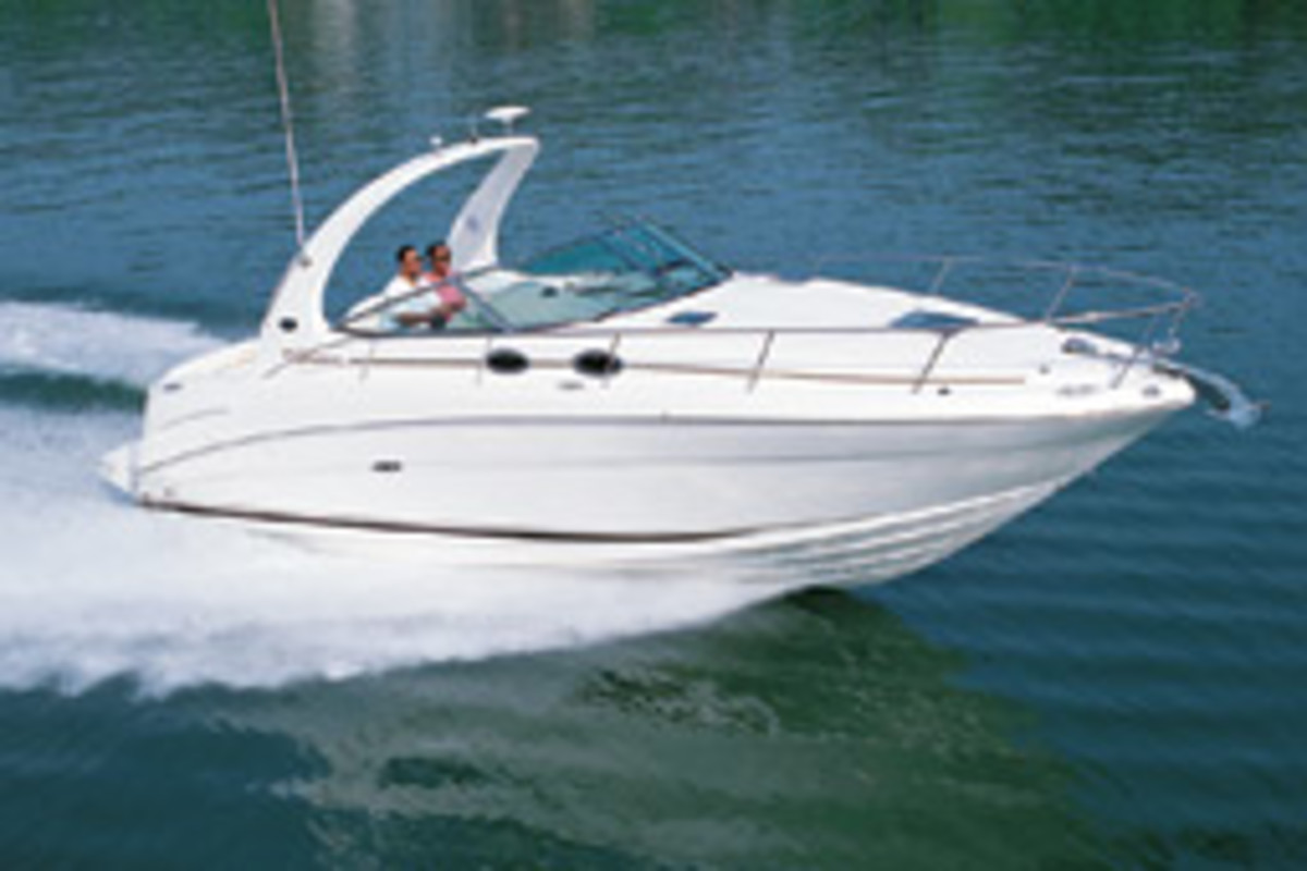 The Rex Boating Club recently added a 300 Sundancer to its fleet.