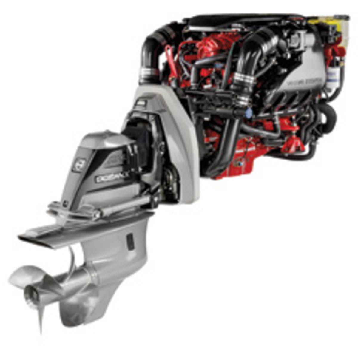 Volvo Penta V8-360 gas sterndrive