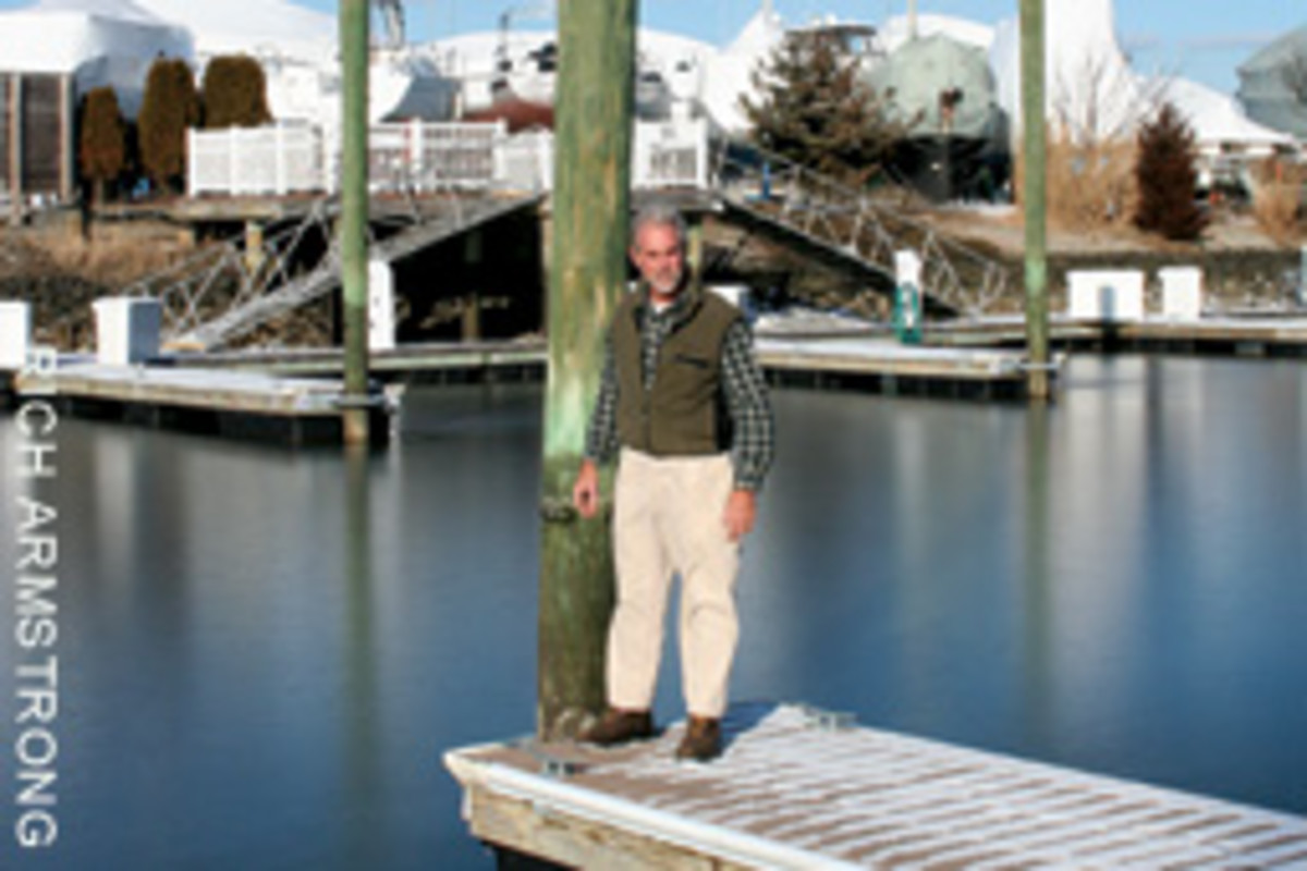 If there's one thing Rives Potts, of Brewer Pilots Point, learned from Hurricane Sandy it's that tall pilings save docks and boats.