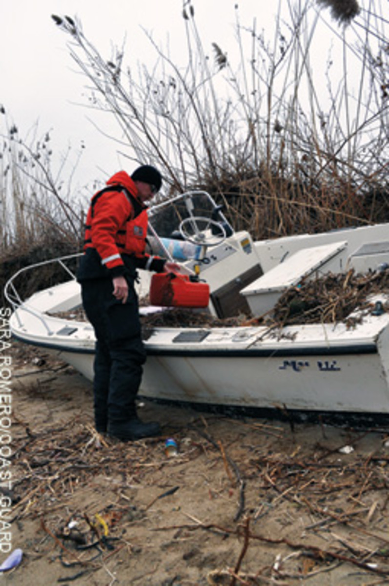 The Coast Guard's Hurricane Sandy Pollution Response Unified Command focused on environmental threats after the storm.