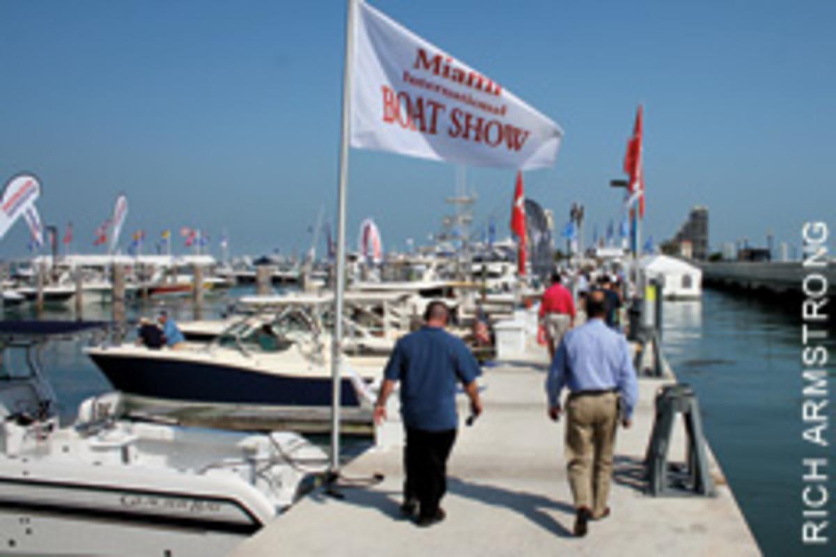 The Yacht & Brokerage Show in Miami Beach and the Miami International Boat Show run Feb. 14-18.