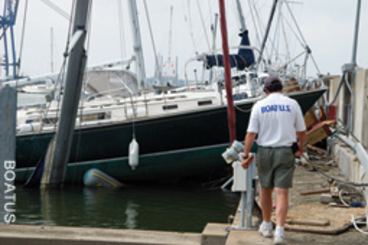 Insurer BoatUS dispatches Catastrophe Field Teams to assess damage after major storms.