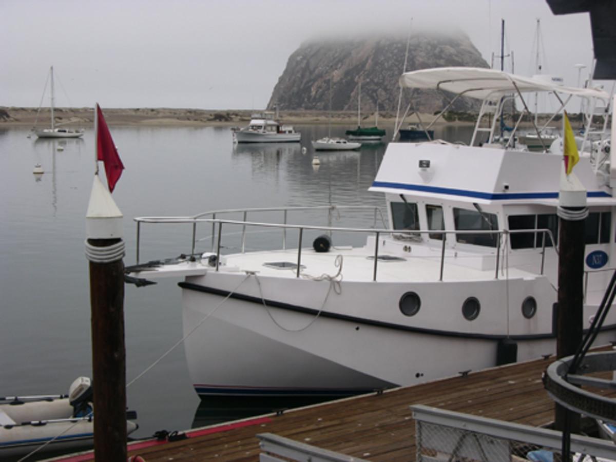 Lena at Morro Bay.