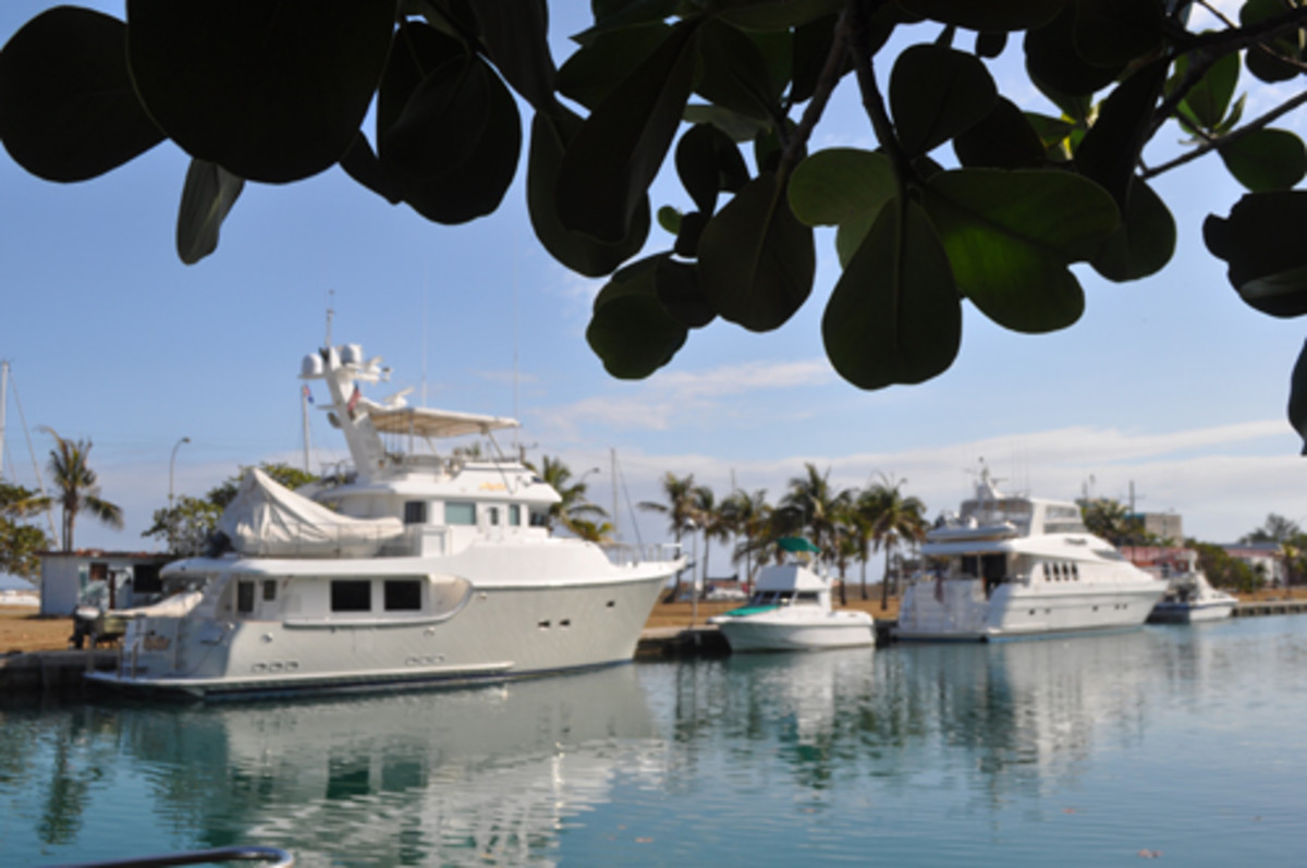 Marina Hemingway, which has side-tie berths for about 150 boats, was developed after the Cuban Revolution on the site of a villa development that American gangster Meyer Lansky owned.