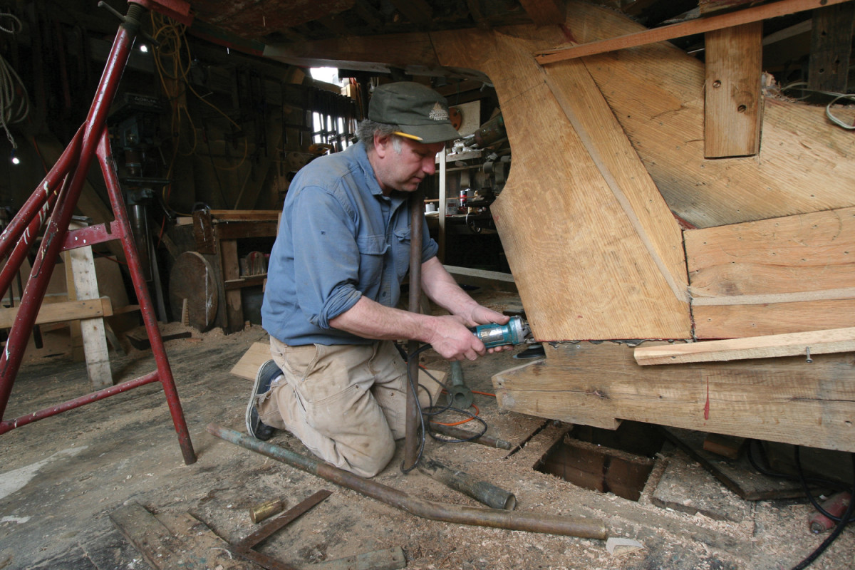 Burnham is a master shipwright, designer, mariner and a National Endowment for the Arts National Heritage Fellow.