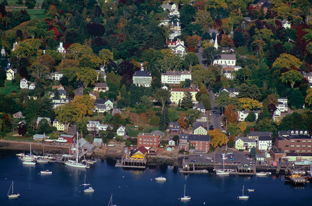 Castine was established as a trading post in 1613 and is a preservationist's dream.
