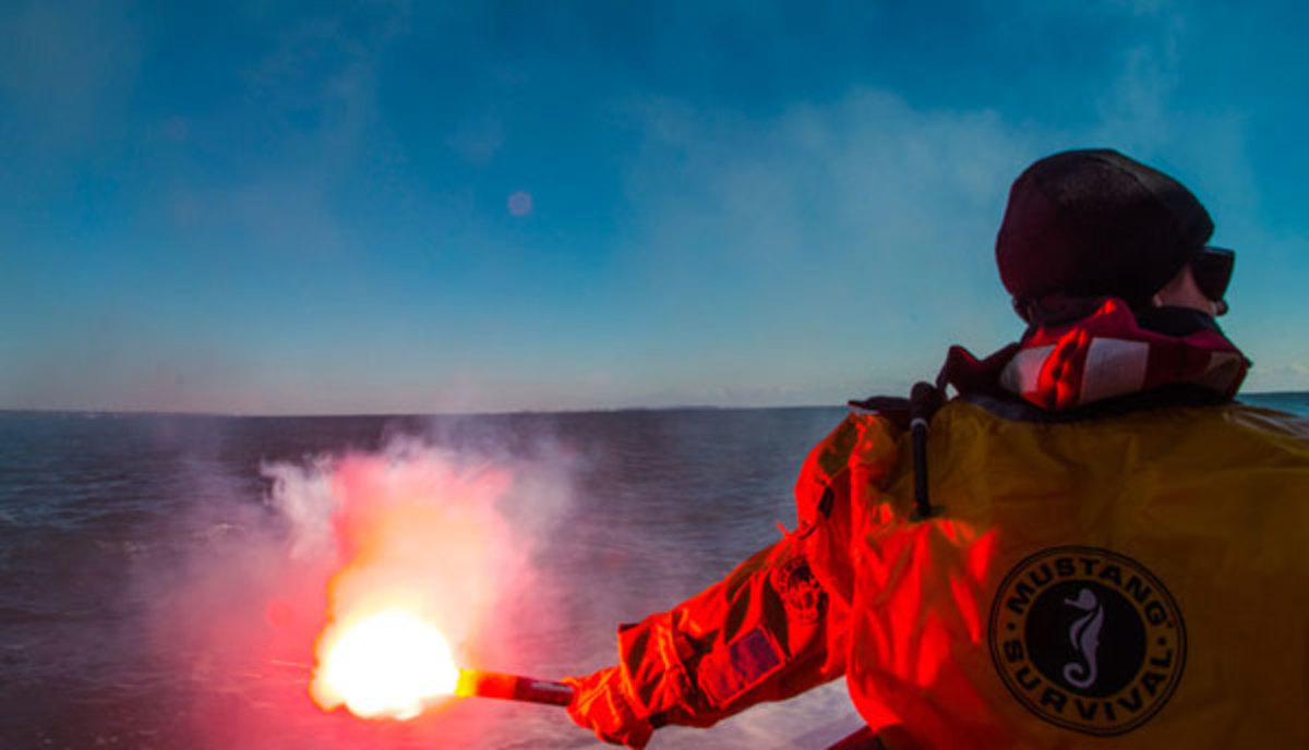 If you haven't practiced setting off flares, you won't be prepared in an emergency.