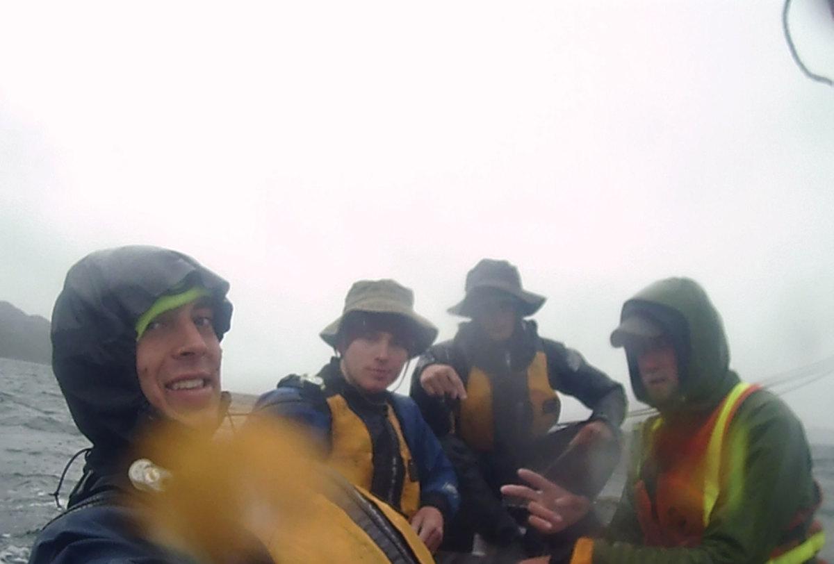 N2AK Crew on a gray day