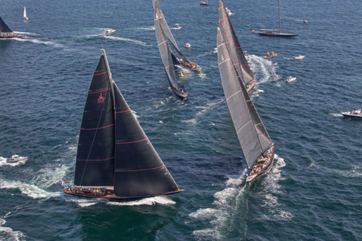 The recent J Class World Championship proved there is strong interest in these stunning yachts.