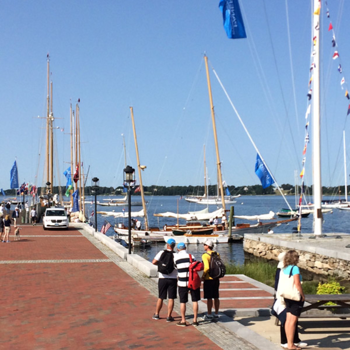 The Herreshoff Museum on Saturday before the   Narragansett Bay Classic Yacht Rendezvous.