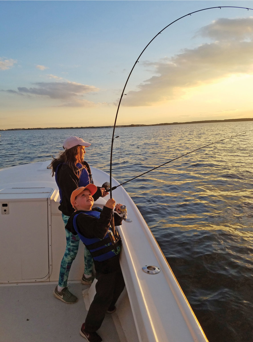 Sizzling summer stripers on chesapeake bay soundings online for Striper fishing chesapeake bay