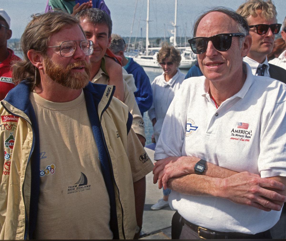 Doug Peterson (left) and Jerry Milgram photo