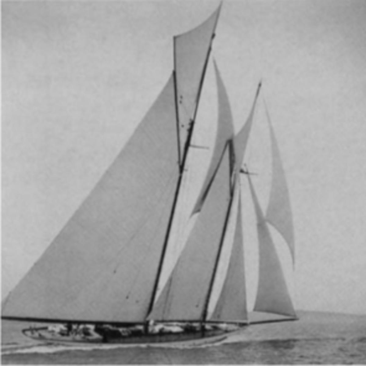 Ingomarwon every yacht club race in her first season.