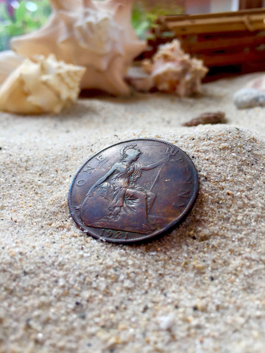 Photo of British copper penny