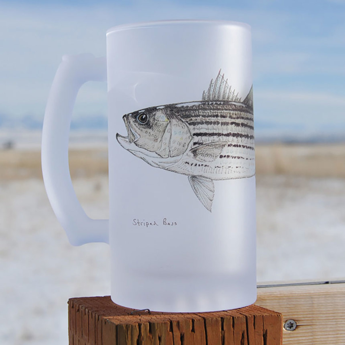 striped-bass-frosted-mug