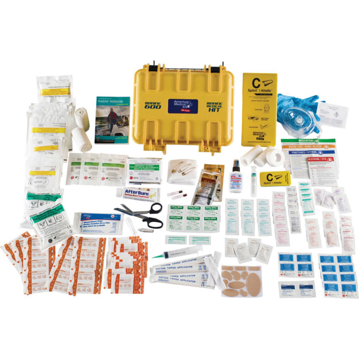 A well-stocked first aid kit is essential on the boat, but you'll need more than that to be truly prepared for an emergency.