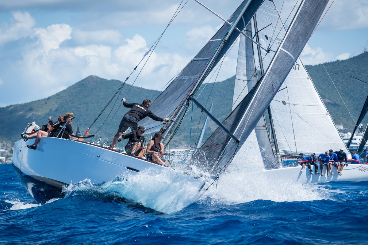 The 38th Heineken Regatta got underway off St. Maarten earlier this month, just shy of six months after Hurricane Irma devastated the island.