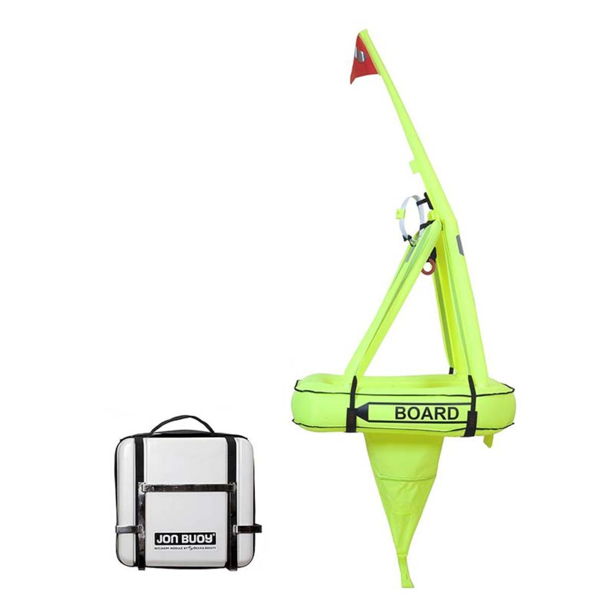 That the Jonbuoy wasn't found is an indication of just how hard it is to find a person in the water. These buoys are bright, chartreuse-colored, man-overboard devices with a raised pole and a flag specifically designed to make a person overboard more visible.