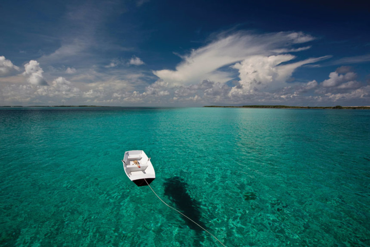 Only 35 miles from Nassau, the Exumas are easily accessible