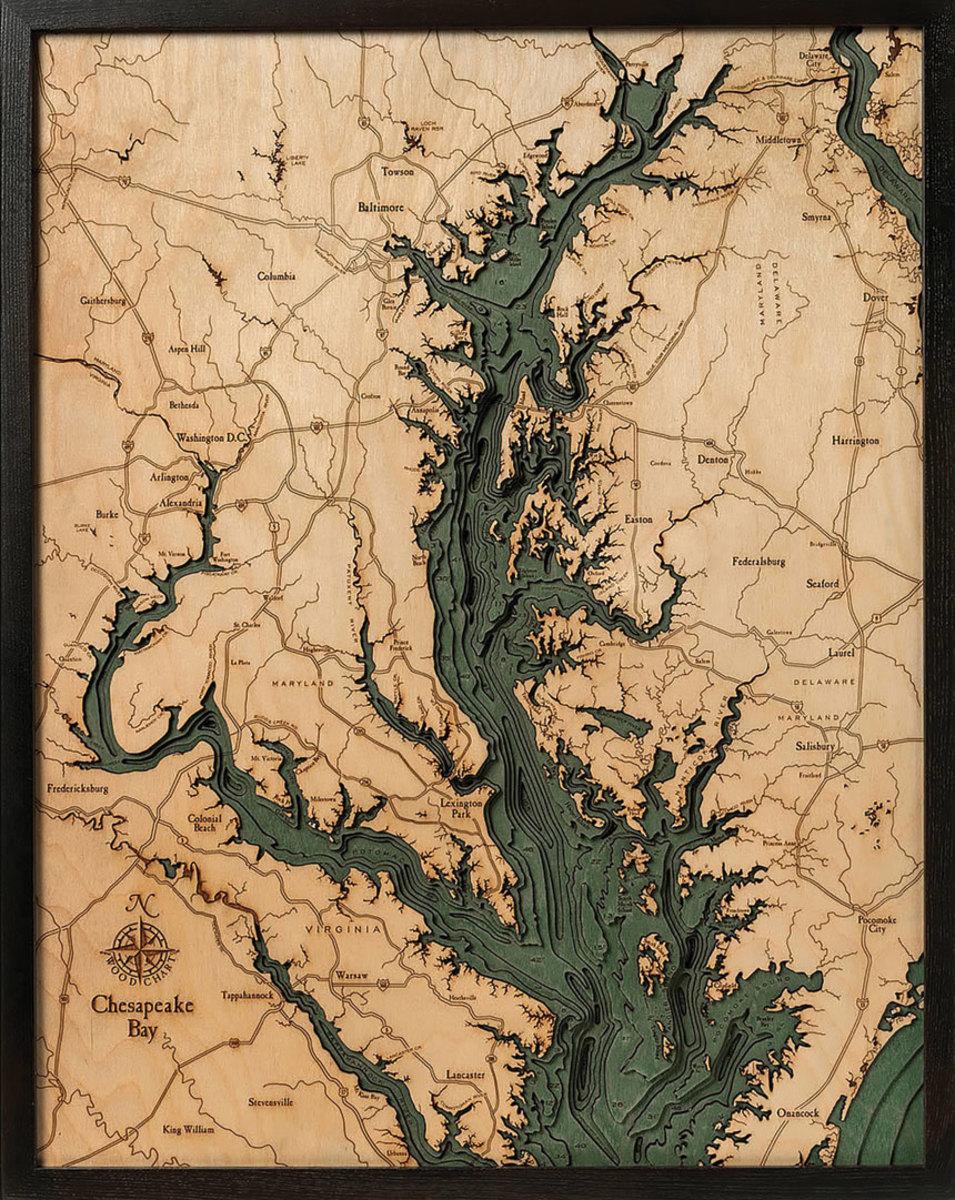 bathy-metric-chart-chesapeake-bay-map