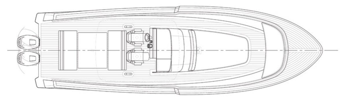 rambler-38-deck-layout