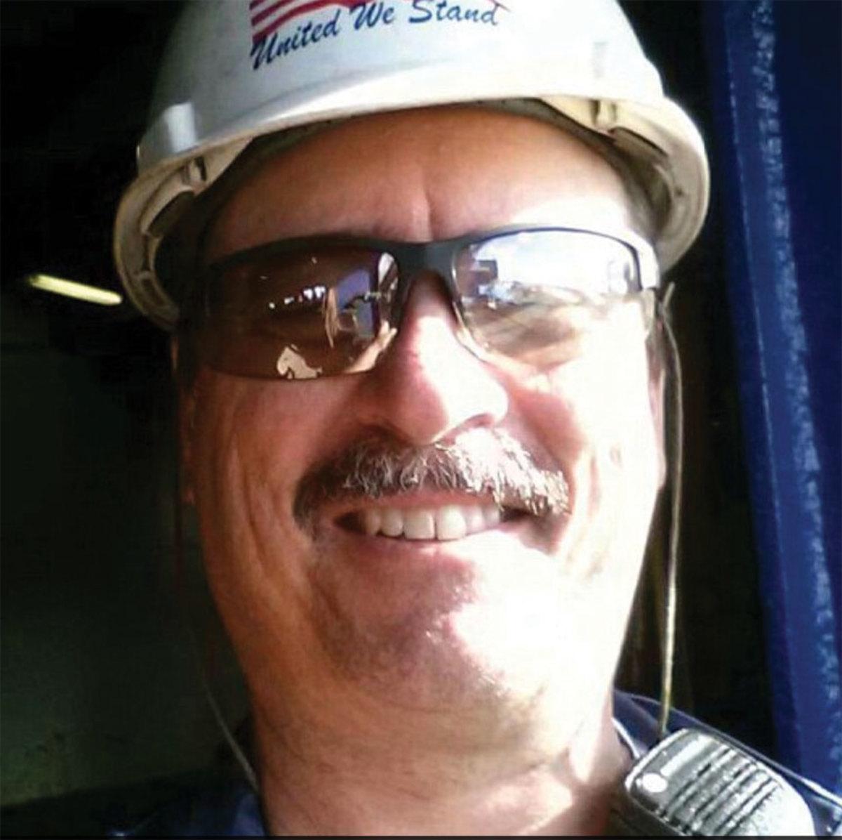 Steven Schultz,  chief mate