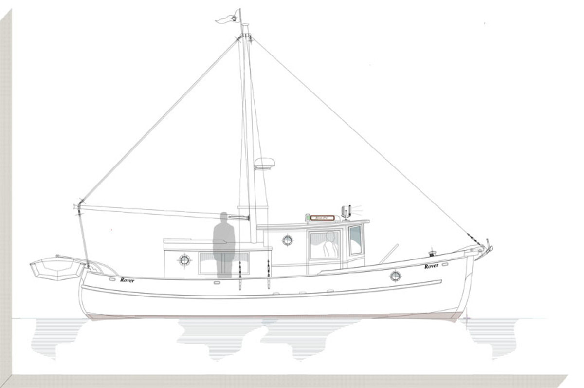 The Rover 29 Cruiser would be ideal for a couple or a single skipper.