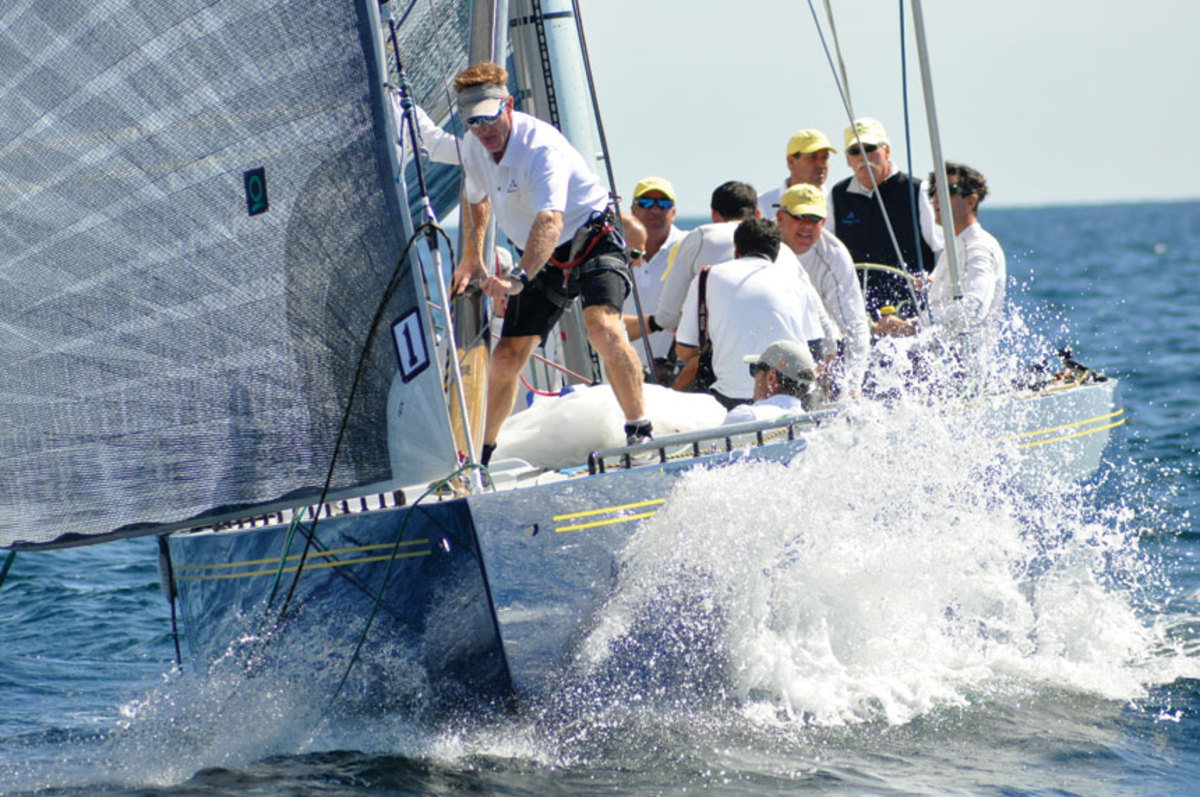 Victory 83 competes at the 2016 World Championships in Newport, Rhode Island.