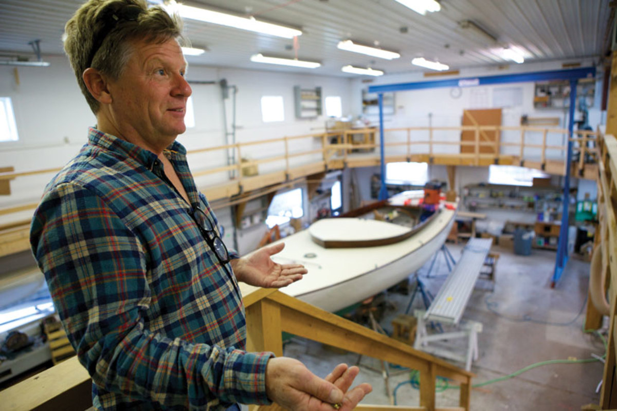Todd French of French & Webb in Belfast, Maine, has been building and restoring spectacular boats for more than twenty years.