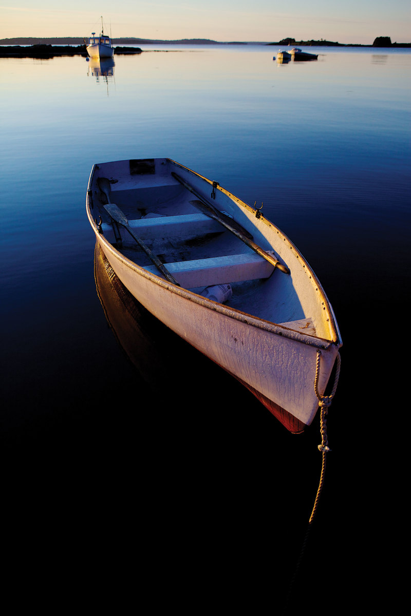 Rowboat At Rest