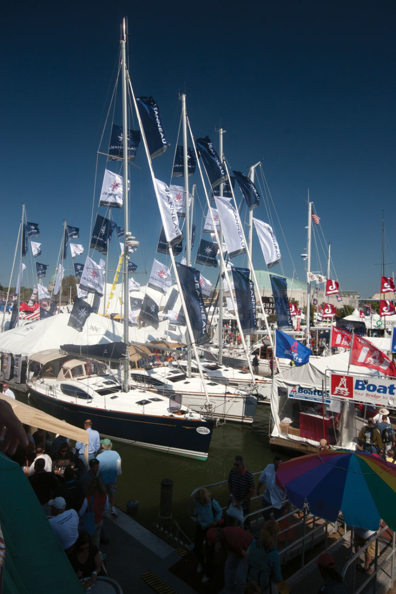 Boat shows are a great place to feed your imagination and to find that perfect boat.