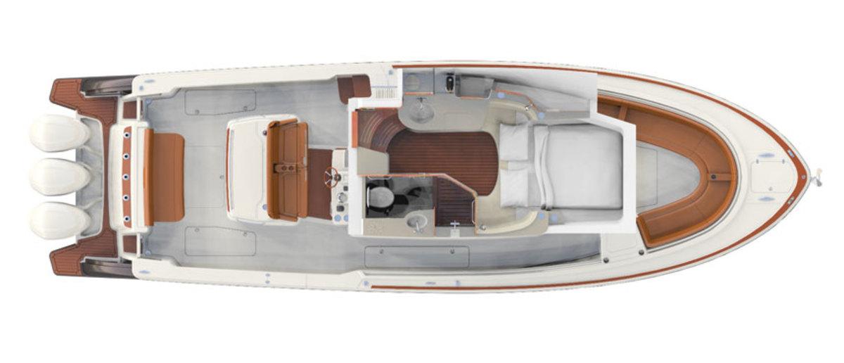 The-Hinckley-Sport-Boat-CC_Berth
