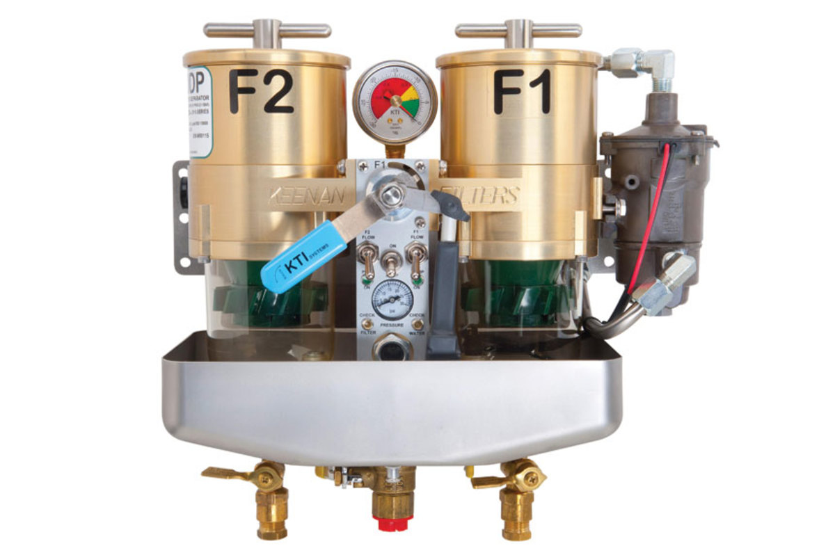 Diesel Fuel Filter Soundings Online Filters The Keenan System From Kti Systems Has Maintenance Diagnostic And Repair Functions To Polish Switch It Warns Boaters When