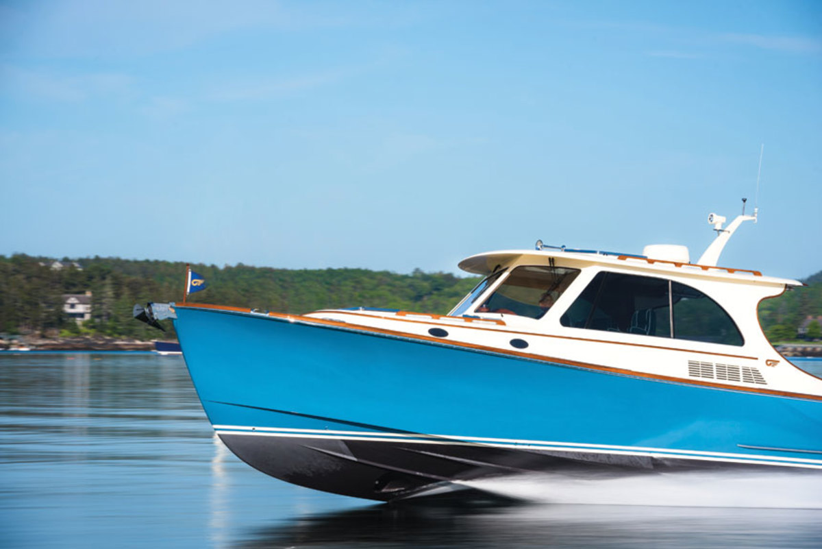 The Hinckley Picnic Boat 40 will get you to your favorite anchorage safely, quickly and stylishly.