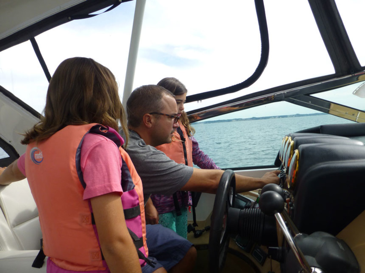 Because boating is a social  activity, communication matters.