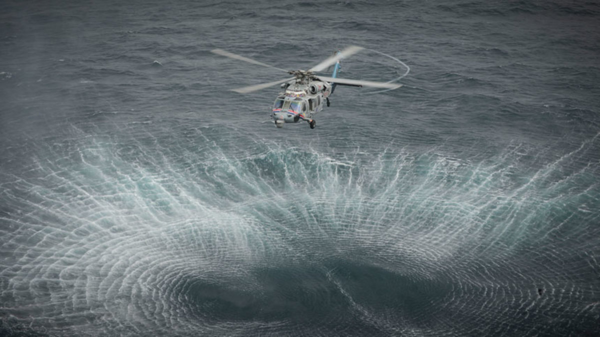 The ocean is big, and even in great conditions, a search aircraft will have a hard time spotting a boat, raft or person.