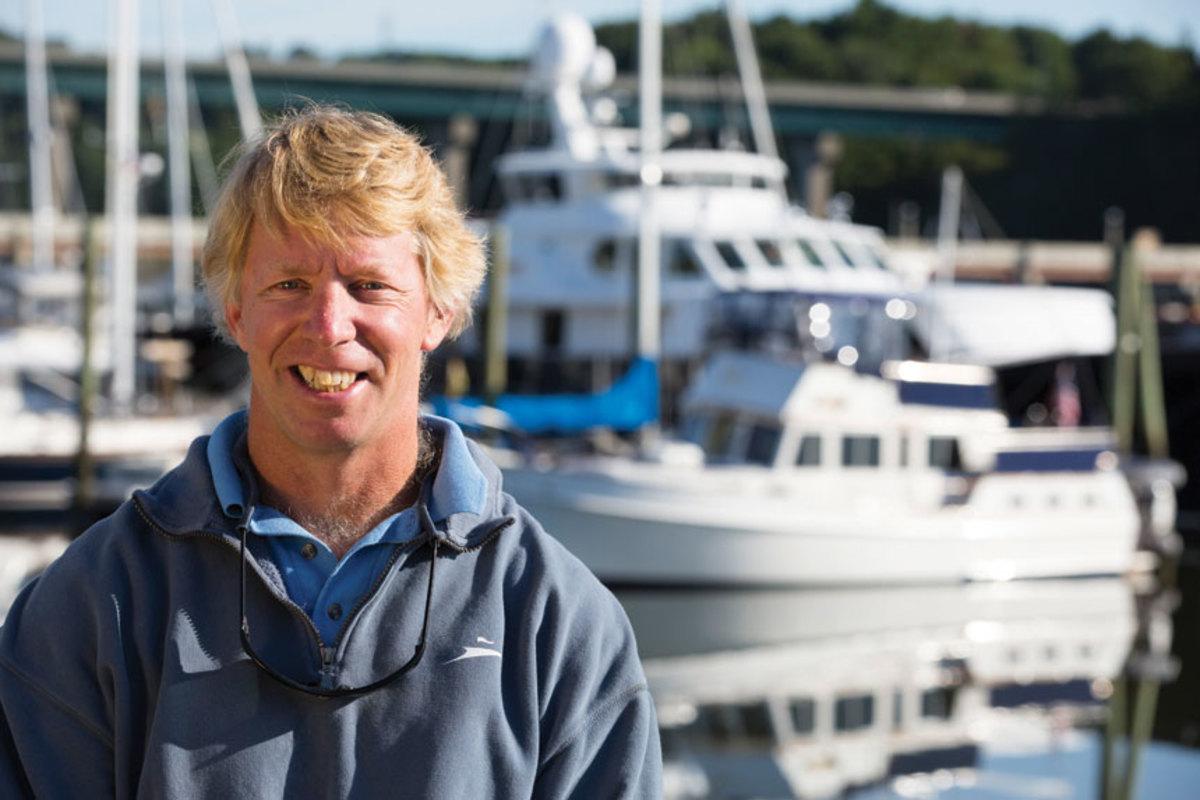 JB Turner of Front Street Shipyard