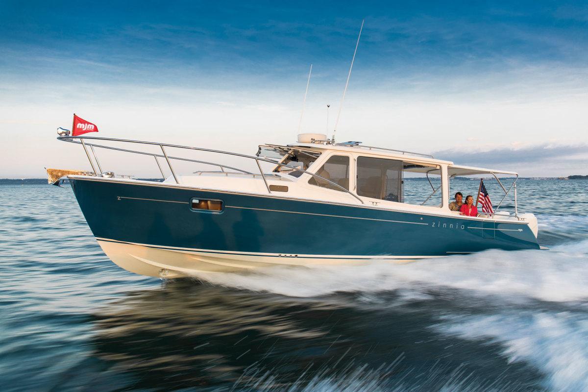 MJM Yachts' 35z