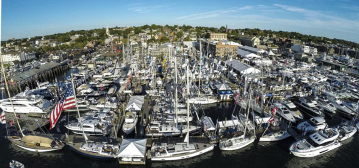 The Newport International Boat Show rolls into Newport, Rhode Island, each September.