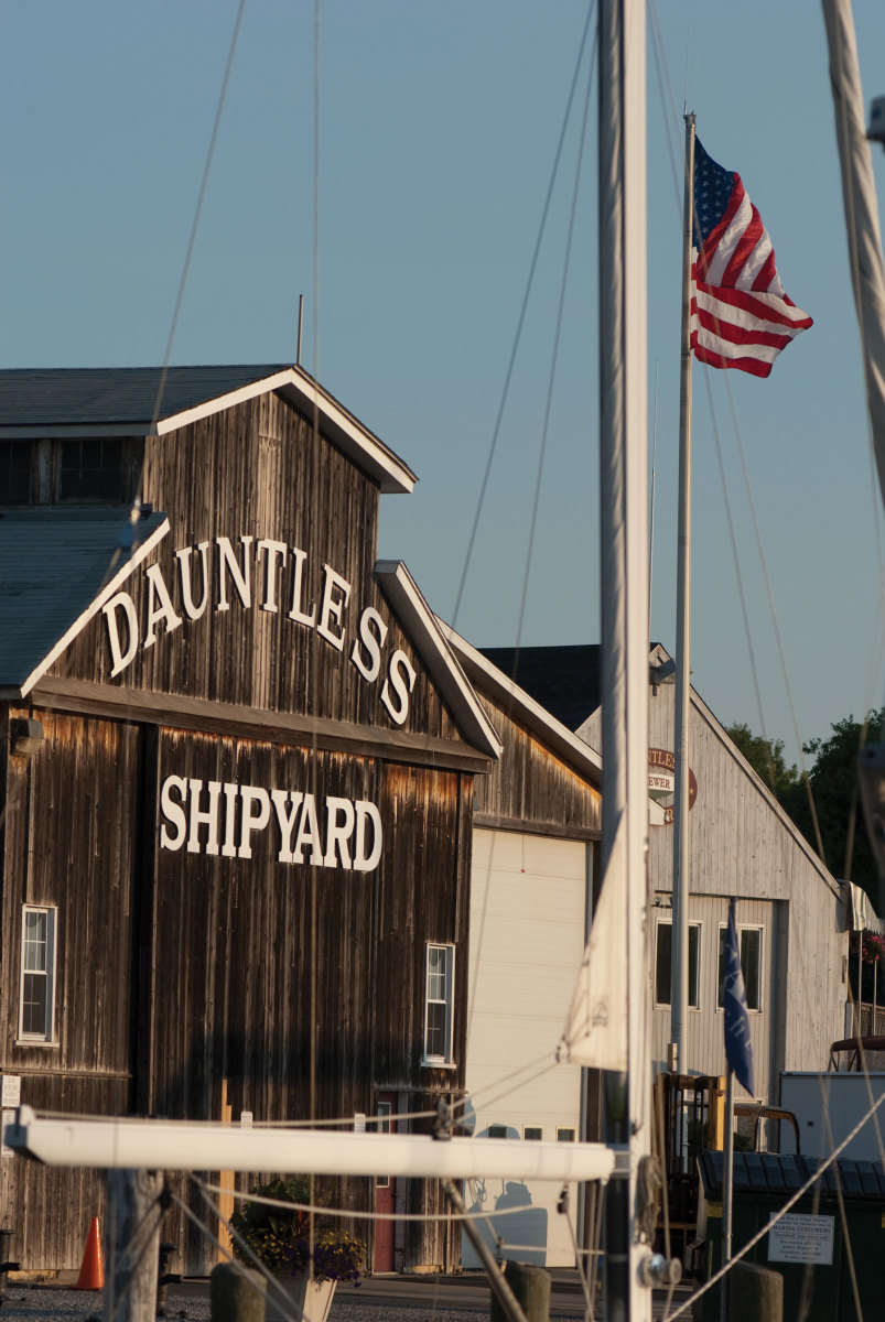 Photo of the Dauntless Shipyard