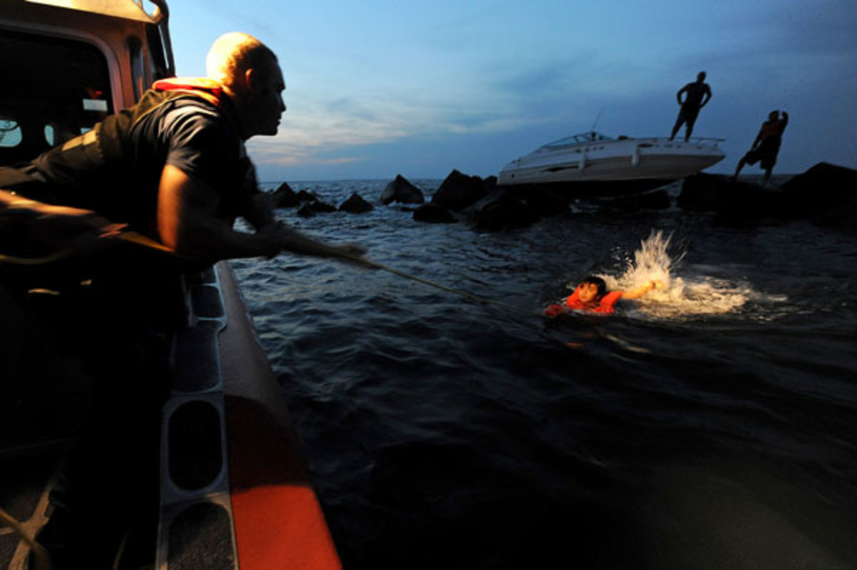 Even in the summer, hypothermia can be risk for boaters who are unprepared for an unexpected overnight stay.