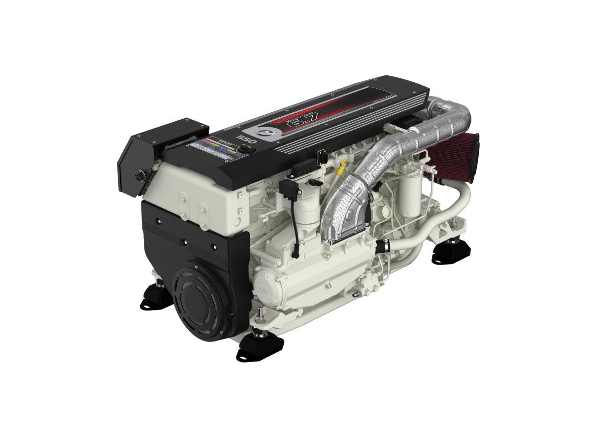 Mercury Diesel 550