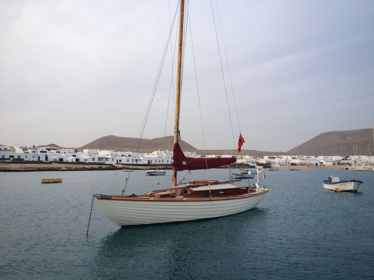 Goolden restored a 1947 Nordic Folkboat. In 2015 he  sailed Lorema across the Atlantic without an engine