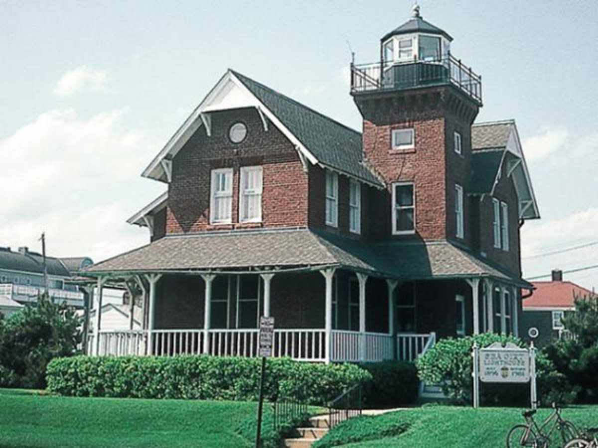 Sea Girt Light was the first shore light-station to be equipped with a radio fog signal.