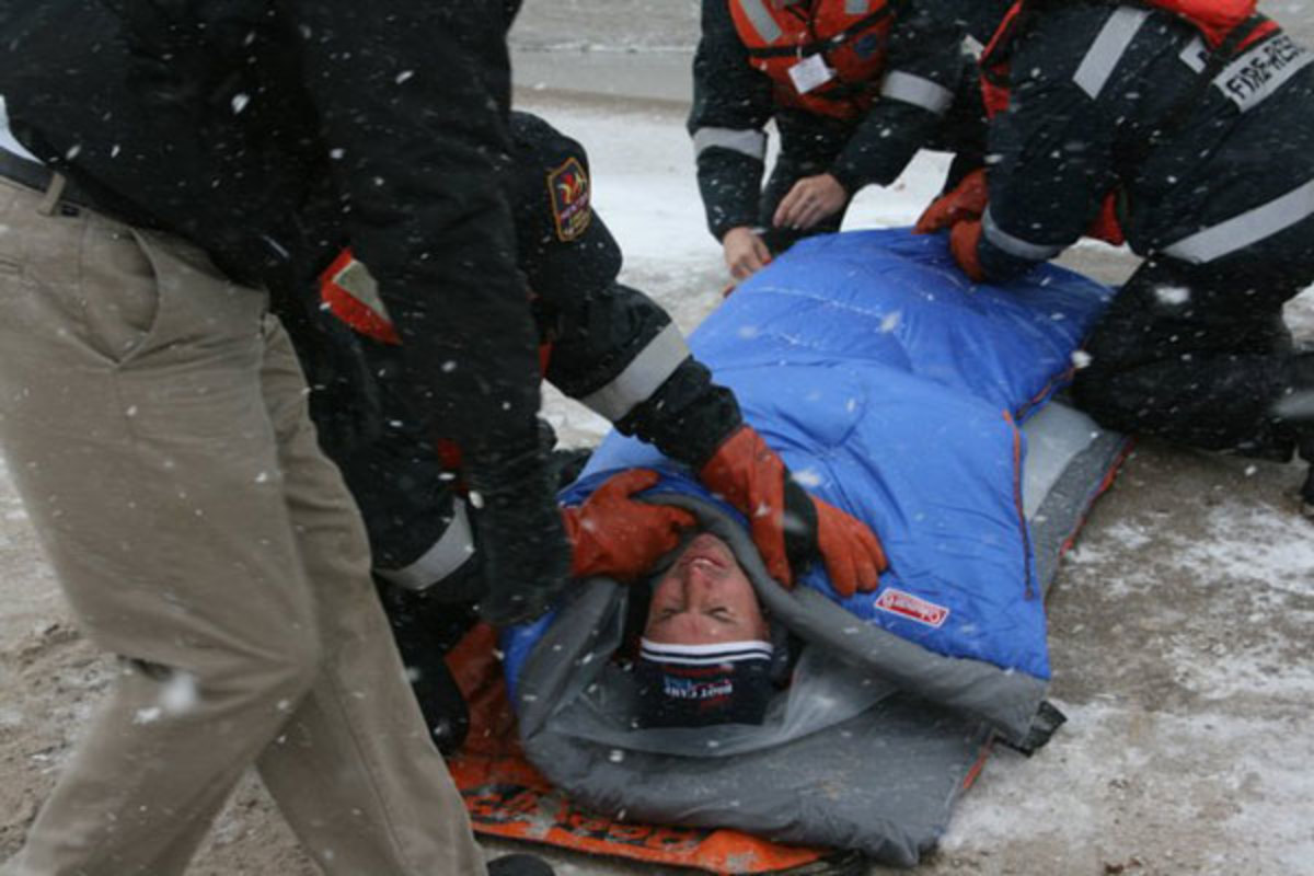 Being recovered from Lake Erie – December 2010.