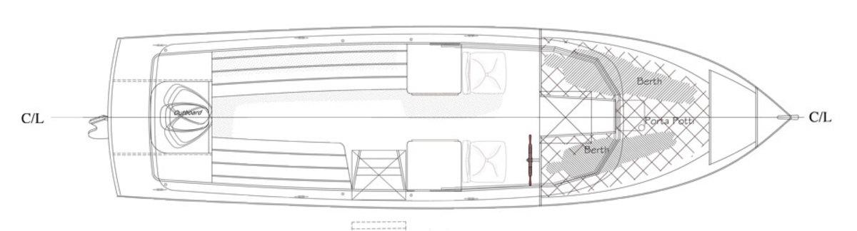 Outboard-Sal-27-Model_Darker-overhead-view
