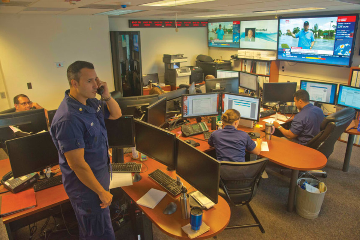 Coast Guard watchstanders must treat every distress call as an actual emergency.