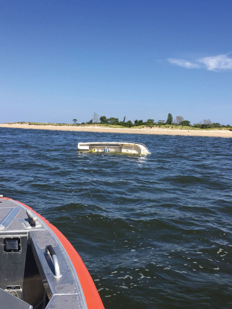 When the chips are down, a quick response might not be possible if the Coast Guard is searching for an incident that didn't happen.